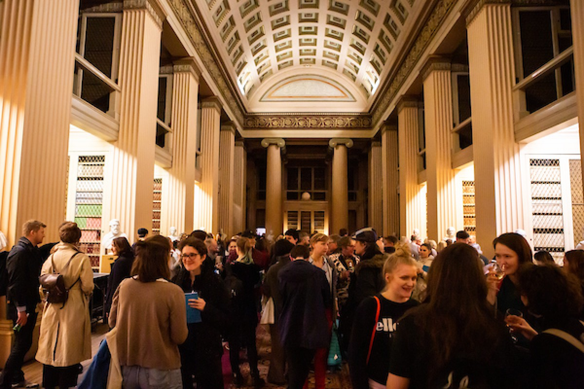 Playfair Library opening reception