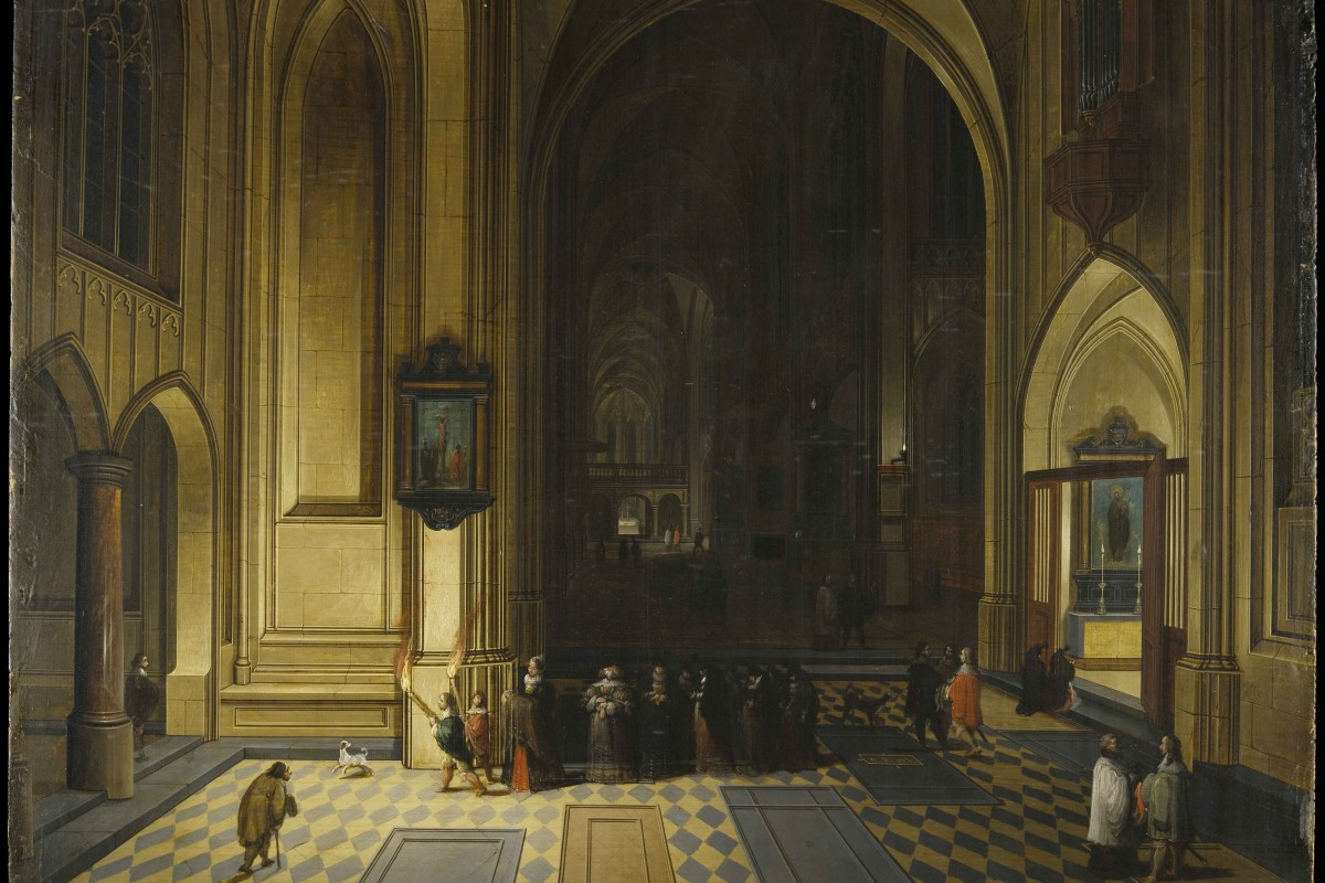 Pieter Neefs the Elder (1578–1661) Interior of a Cathedral, no date oil on panel, 29 × 39 cm Torrie Collection, University of Edinburgh. Accession no. EU0726