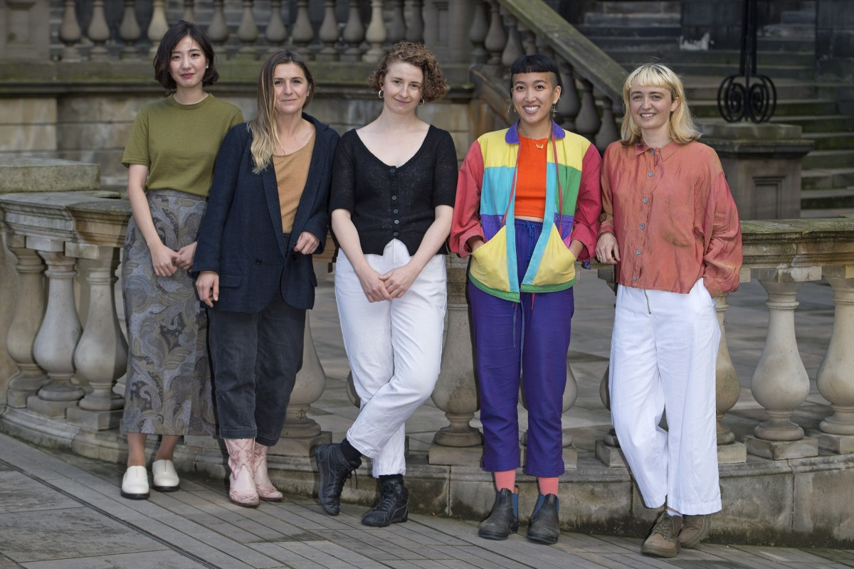 Talbot Rice Residents 2019-2021: Mona Yoo, Jenny Hogarth, Sarah Rose, Rae-Yen Song, Eothen Stearn